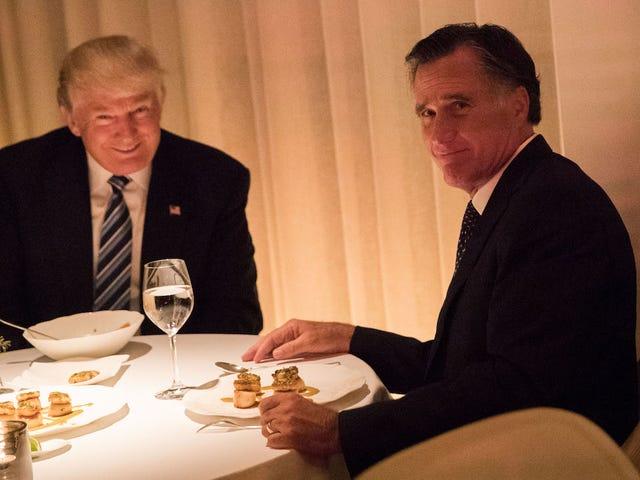 参议员罗姆尼(Mitt Romney)表示FDA应考虑召回电子烟以唤醒死亡