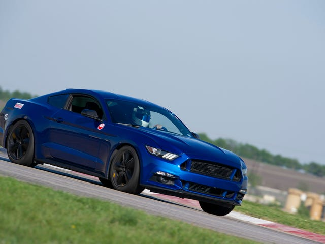 Blue Mustang Time
