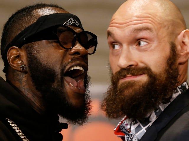 Deontay Wilder parle de la bonne merde en avance sur son combat avec Tyson Fury