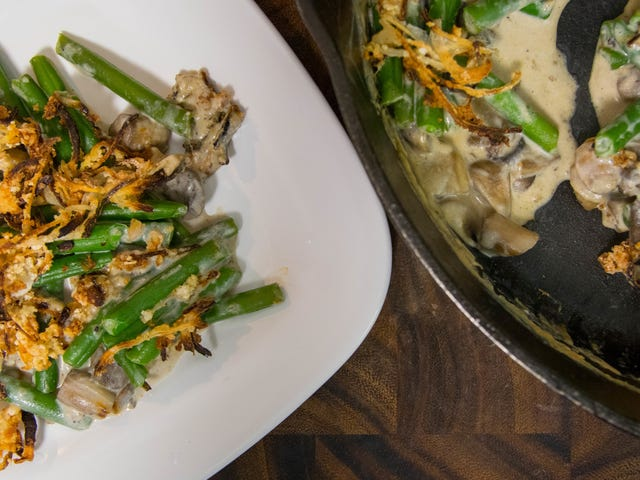 Grilled Green Bean Casserole Is Your New Fall Side Dish