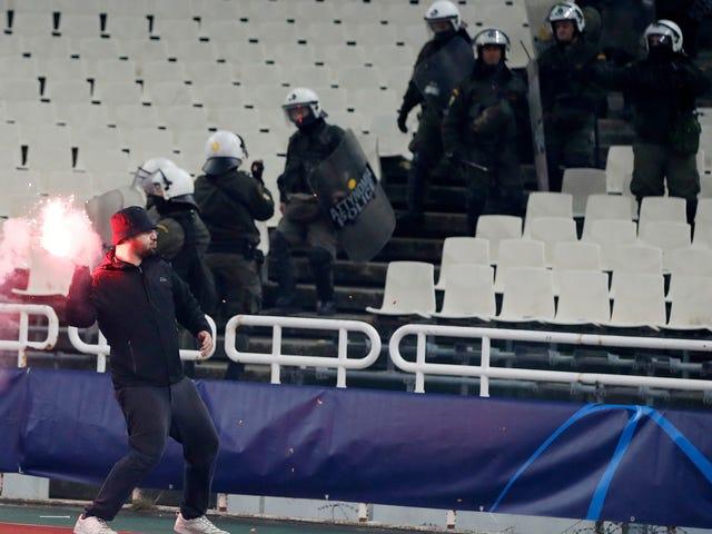 Bomb Explodes Near Ajax FansAhead Of UCL Match In Greece