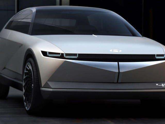 Le concept Hyundai 45 est un élégant VE rétro qui prouve que l'avenir peut ne pas être terrible