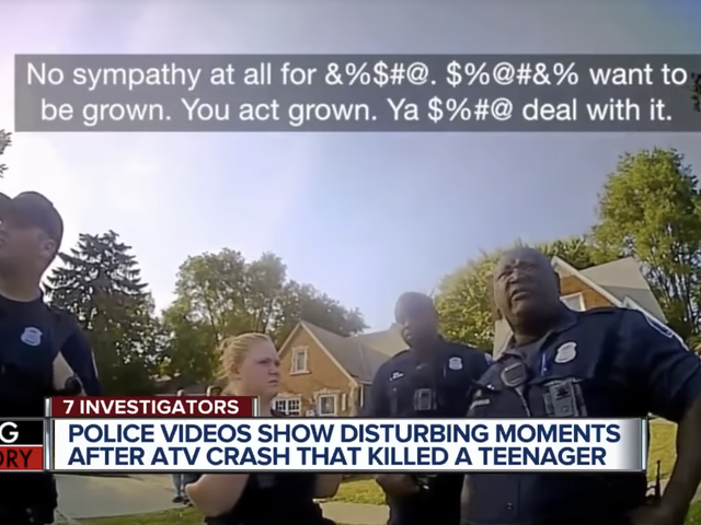 Video Released After Teen Tased and Killed by Michigan State Troopers Underscores Law Enforcement's Utter Contempt for Black Americans