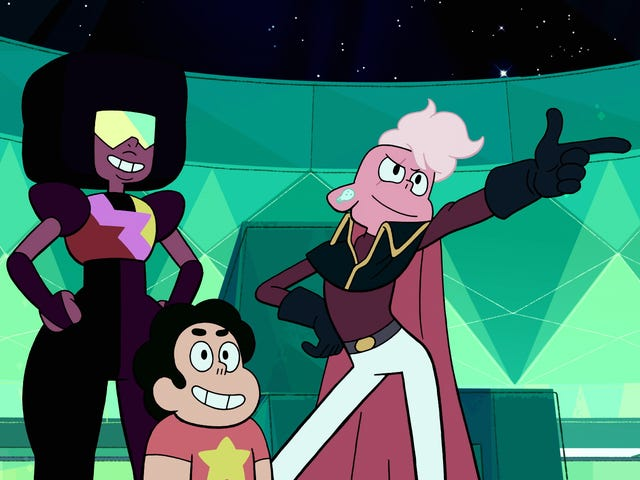 "Garnet tells Steven Universe a story we've heard before about ""Your Mother And Mine"""