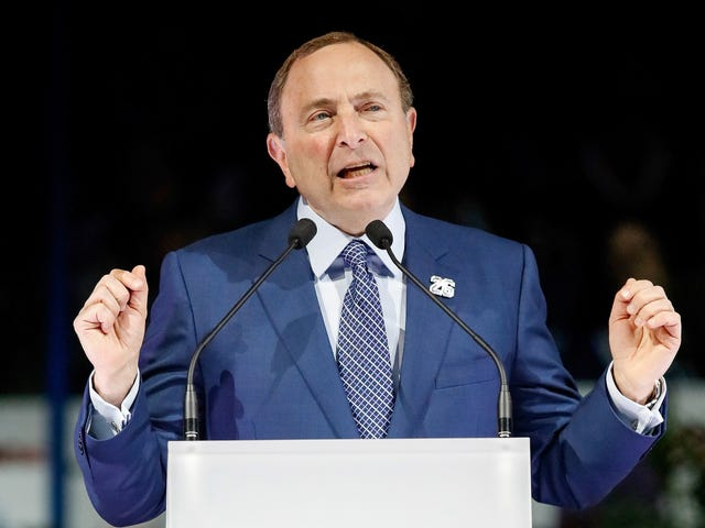Unsealed Docs: Gary Bettman Told NHL GMs How To Discourage Media From Talking About Fighting