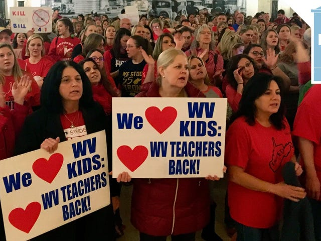 West Virginia Teachers Will Fuck With You If You Fuck With Them
