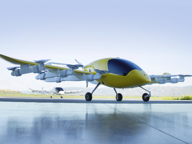 Here's Our First Look at Kitty Hawk's Ambitious Autonomous Air Taxi