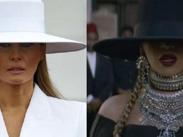 "PWT ""Been Caught Stealin'"" RoundUp:  FLOTUS' Speech & Greens Recipe, Bey's Hat, State Dinner-No Dems; Hannity Helps Himself to HUD $$$, B. Blackwater DeVos Deprives Kids of Remedies"