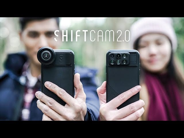 ShiftCam 2.0 Might Be the Slickest iPhone Camera Lens Case Yet - Preorder Starting at $49