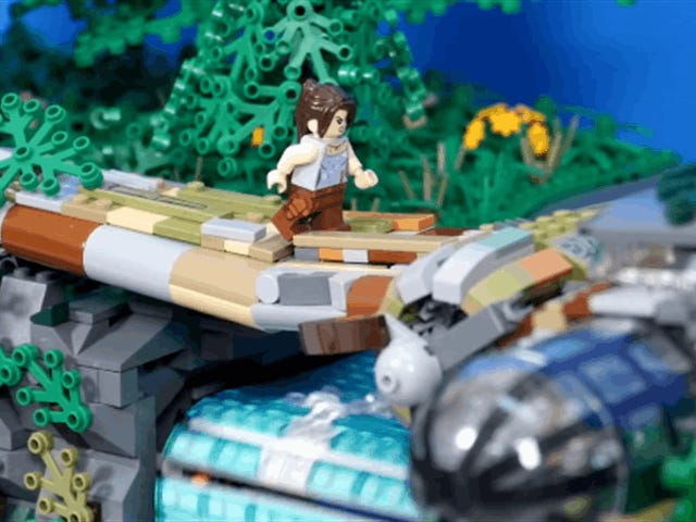 Tomb Raider LEGO Has Some Cool Moving Parts