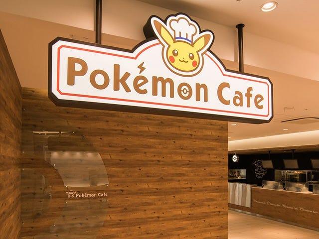 Inside Tokyo's Newest PokémonCafe