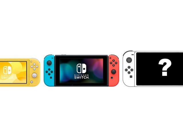 Switch Lite näyttää hienolta, mutta mitä todella haluan, on Switch Pro