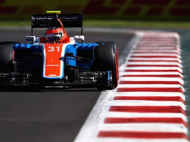 Пошкоджено Backmarker не дозволяється почати робити свою нову формулу автомобіля