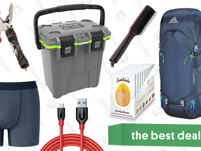 Saturday's Best Deals: Pelican Coolers, Uniqlo, Gerber Knives and Multitools, and More