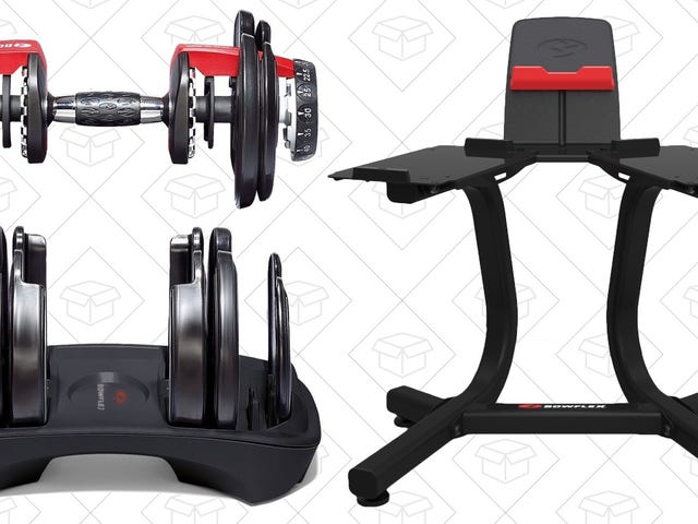 Flex Your Savings Muscles With This Bowflex Dumbbell Combo Deal