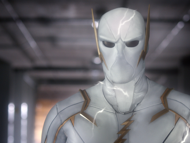 Here's Your First Look at The Flash's Godspeed, and His Uncomfortable God-Crotch