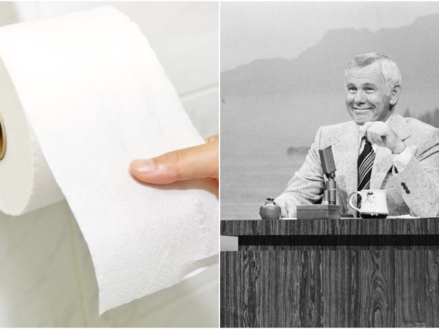 Get Involved, Internet: Support this film about Johnny Carson causing a toilet-paper shortage