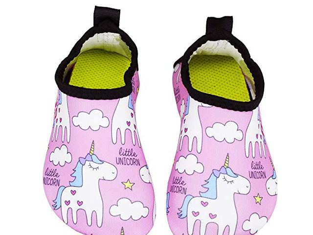 50% OFF Adorllya Toddler Baby Water Shoes Barefoot Aqua Socks Swim Shoes for Kids $7.5
