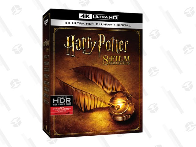Conjure Up $106 To Own Every Harry Potter Film On 4K Blu-ray + Digital