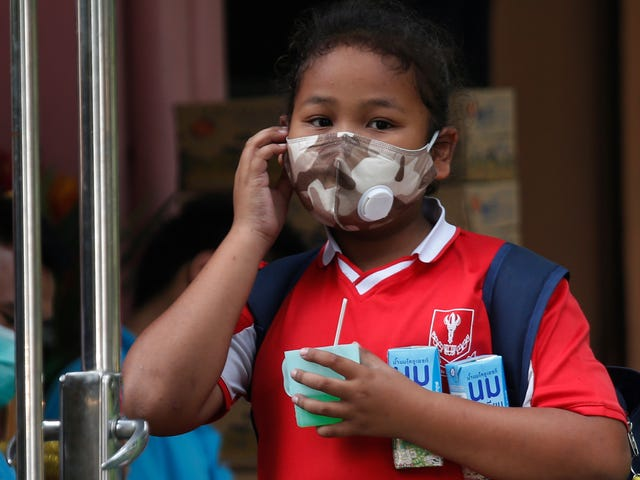 Smog Is So Bad in Bangkok That Hundreds of Schools Are Closed for the Week