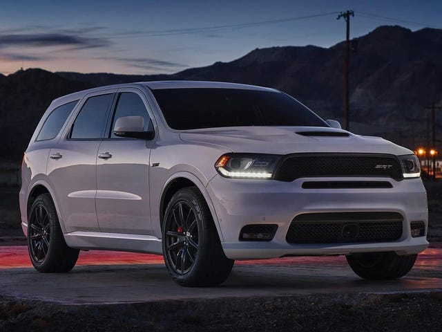 We're Getting A Dodge Durango SRT Hellcat Before A Hellcat Pickup For Some Reason: Report