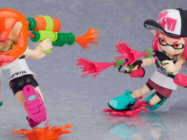 New Splatoon Figures Are Like Amiibo, Only Much Better
