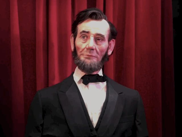 The Most Realistic Robo-Lincoln Yet Proves the Future Is Going to Be Weird as Hell