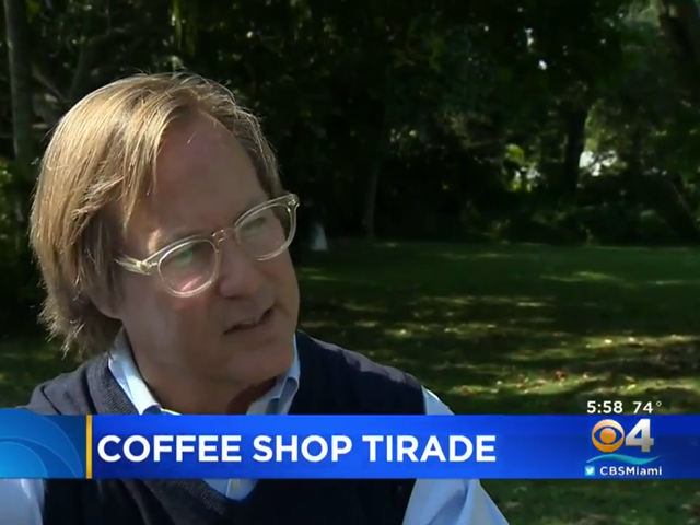 Fla. Man Claims He Received Bad Service at Starbucks Because He Voted for Trump