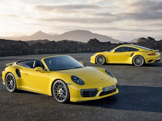 2017 Porsche 911 Turbo E Turbo S: É Isso