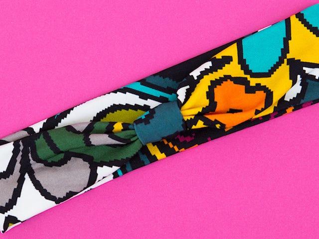 Μεταμορφώστε το Scrap Fabric σε ένα Τεντωμένο, DIY Workout Headband