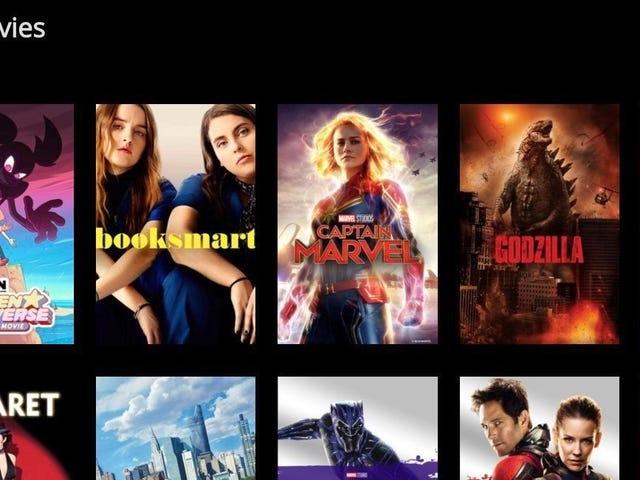 Om du köper filmer online Se till att du registrerar dig för den här tjänsten för att titta på dem var som helst