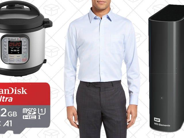 Οι καλύτερες προσφορές σήμερα: Αποθήκευση Υπολογιστών, Instant Pot, Πώληση Nordstrom και Περισσότερα
