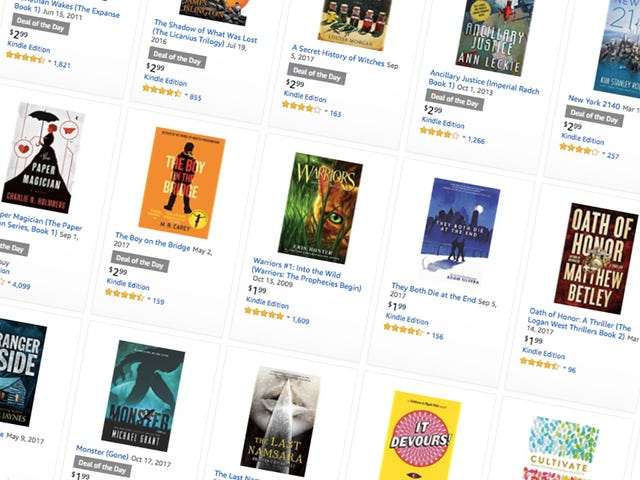 Fill Your Kindle With Mysteries, Thrillers and Science Fiction With This One-Day Sale