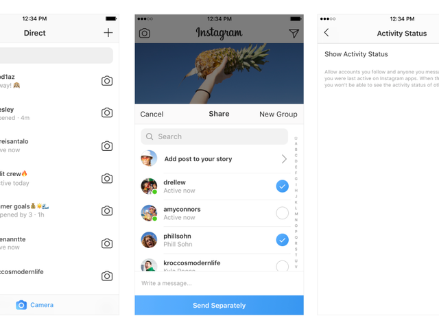 Instagram's New Activity Status Shows When You're Online, and Yes You Can Turn It Off