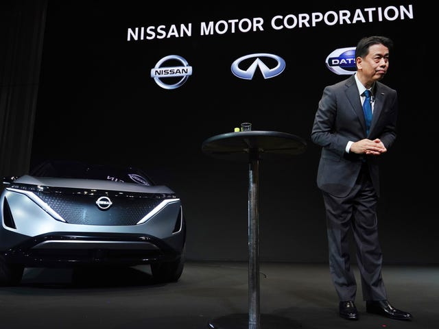 CEO Nissan adalah Going All In