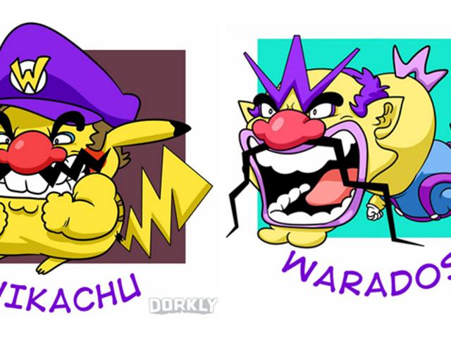 Wario slår Pokémon inn i onde små skapninger