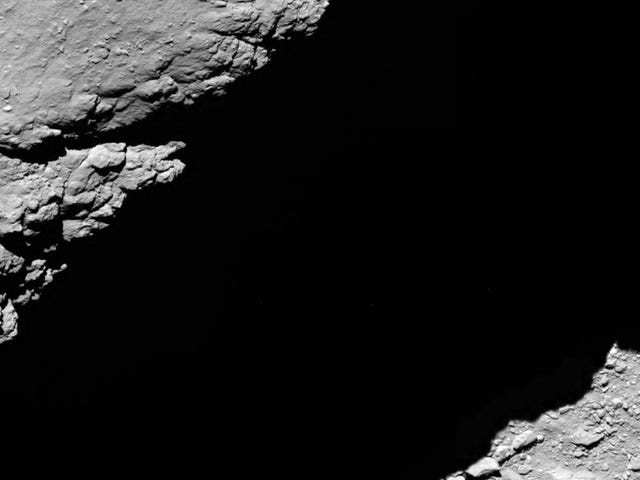 This Is the Last Thing the Rosetta Spacecraft Saw Before It Died