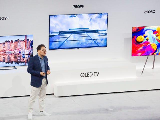 Terwijl Apple van dienst verandert, komt zijn iTunes-app terecht op Samsung Smart TV's