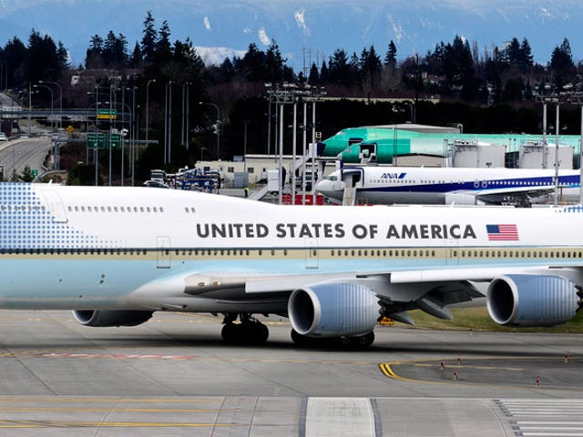 La prochaine Air Force One sera un Boeing 747-8