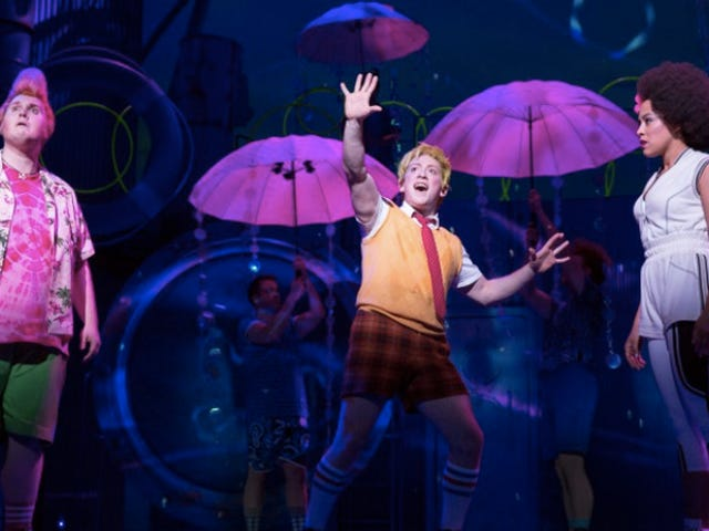 Broadway preparada para absorver os prazeres do musical SpongeBob Squarepants