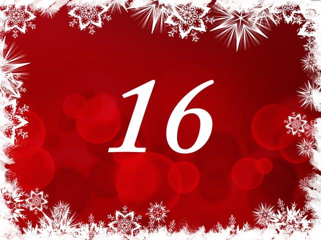The TAY Advent Calendar: Day 16