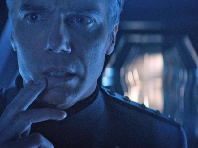 Saksi Transformasi Star Trek Dramatic Terkini Anson Mount Datang Bersama