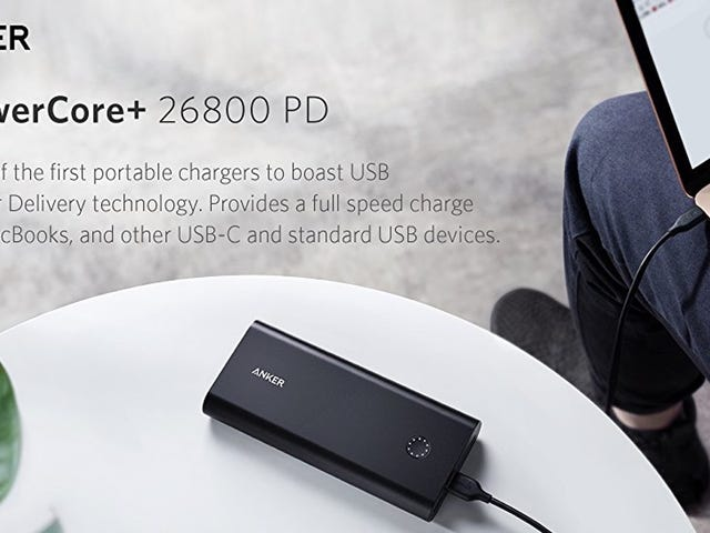Anker's USB-C Battery Pack Is Perfect for the MacBook and Nintendo Switch, and It's Never Been Cheaper