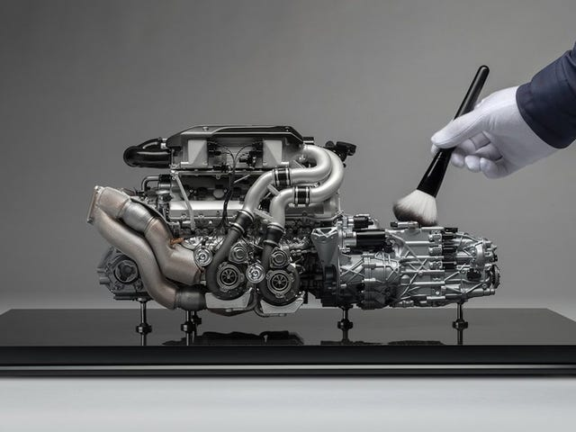 Paying $10,000 For A Bugatti Chiron Model Engine Seems Rather Silly