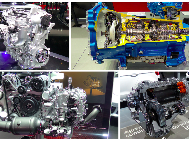 Here Are All The Sweet Engineering Cutaways From The Paris Motor Show