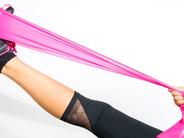 The Best Stretches You Can Do With a Resistance Band