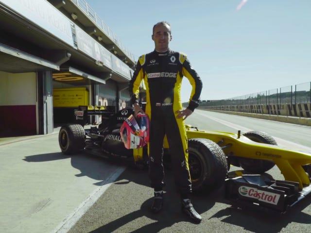 Robert Kubica Akan Menguji Kereta F1 2017 Enam Tahun Selepas Hampir Mati Dalam Kerosakan Rali