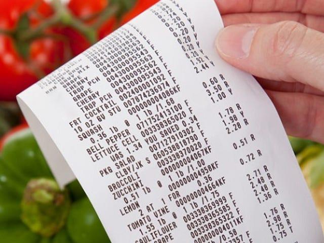 予算を$ 0から始めてワークアップすることで、食費を減らす