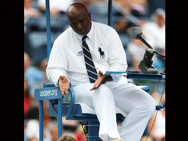 EEOC sidor med Black Chair Umpire som sa US Tennis Association diskriminerad mot honom