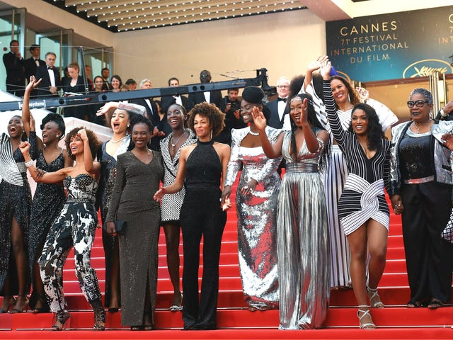 Black Is Not My Job: 16 Black Actresses Take the Cannes Red Carpet by Storm